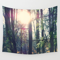 Forest Wall Tapestry by Yoshigirl