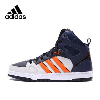 Official New Arrival Adidas NEO Label HOOPS Men's Skateboarding Shoes Sneakers Classique Shoes Platform sneakers