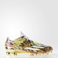adidas adizero 5-Star 5.0 Gold Cleats - White | adidas US
