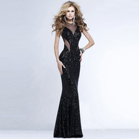 Mermaid Sexy Wrap Lace Ball Gown One Piece Dress [9108981447]