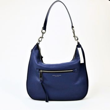 Marc Jacobs Large Leather Recruit Hobo