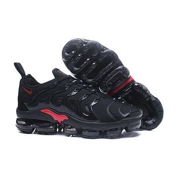 2018 Nike Air VaporMax Plus TN Black Red Sport Running Shoes