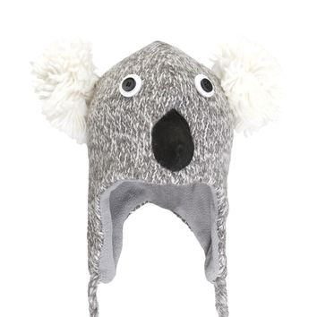Kirby The Koala Peruvian Knit Hat