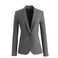 J.Crew Womens Petite Campbell Blazer In Italian Stretch Wool