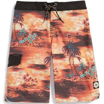 Boy's Rip Curl 'Island Time' Board Shorts