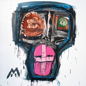 Anarchia by Cael Pipin, Acrylic on Canvas