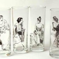 Victorian trading Co. - www.victoriantradingco.com - Gibson Girl Tumblers