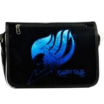 Fairy Tail  Bags Japan Animation Cosplay Shoulder Bag Men and Women Messenger Bags Laptop Crossbody Bags