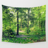 Forest Wall Tapestry by 2sweet4words Designs