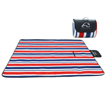 2017 Outdoor Picnic Mat Camping Baby Climb Plaid Blanket Beach Waterproof Moistureproof Picnic Blank