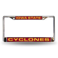 Iowa State Cyclones NCAA Laser Chrome Frame