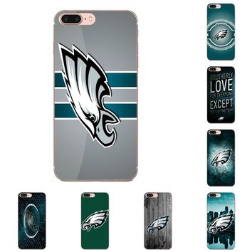 For LG G2 G3 mini spirit G4 G5 G6 K4 K7 K8 K10 2017 V10 V20 V30 Fundas Phone Case Cover Philadelphia Eagles American Football