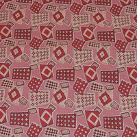 Pink & Mauve Cotton Quilting, Sewing Fabric, Quilting Design, Yardage by 46 Inches, Quilting, Sewing Projects, Pattern Cotton Fabric