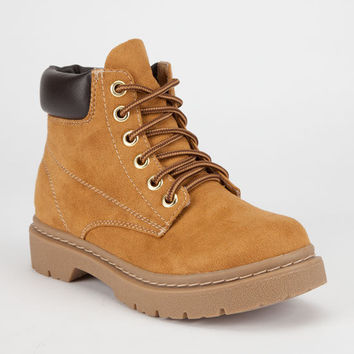 Soda Tanic Womens Boots Chestnut  In Sizes