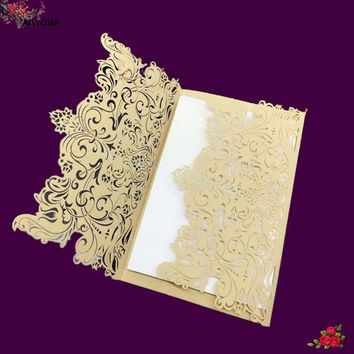 30pcs/Romantic Invitation Card Wedding Party Invitation Card Exquisite Sculpture Birthday Business Party Invitation Card 5ZSH073