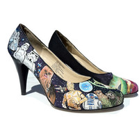 Custom HAND Painted Heels  Star Wars OR other by eastbaycalifornia