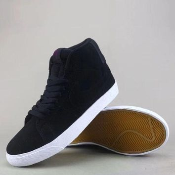 Wmns Nike Sb Blazer Zoom Low Fashion Casual High-Top Old Skool Shoes
