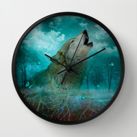 I'll See You In My Dreams... Wall Clock by soaring anchor designs ⚓