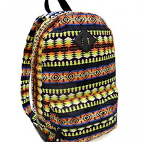 Sunset Fade Tribal Print Backpack