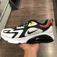 Nike Air Max 200 Tide brand half palm cushion sneakers