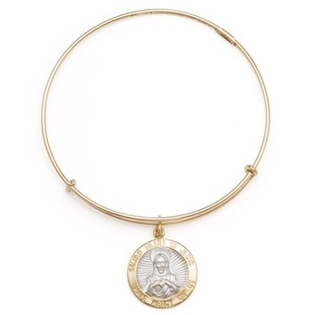 Sacred Heart Of Jesus Charm Bangle