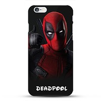 Deadpool Dark Phone Case For iPhone 7 7Plus 6 6s Plus 5 5s SE