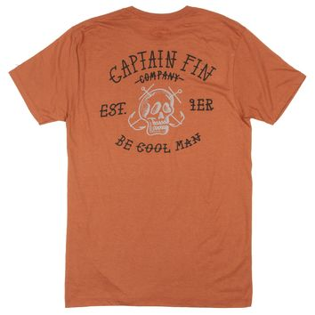 Captain Fin Respect Mens Tee
