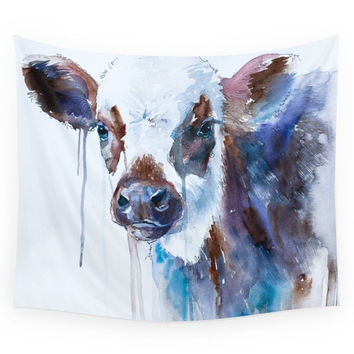 Society6 Cow Wall Tapestry