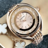 Swarovski New fashion swan more diamond watch