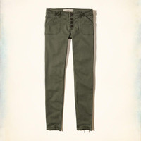 Girls Hollister Low-Rise Super Skinny Twill Pants | Girls Bottoms | HollisterCo.com