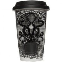 Sourpuss Kraken Up Porcelain Tumbler