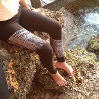 Feathers & Arrows Tribal Leggings
