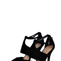 Lucy Pointed Cage Heels