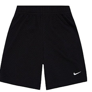 Nike Boys Black Athletic Mesh Shorts 7