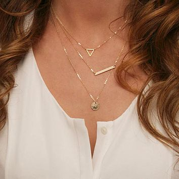 On & On Layer Necklace