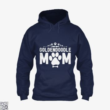 Goldendoodle Mom, Family Love Hoodie