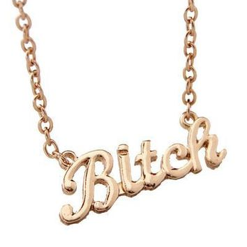 That's My Name Don't Wear It Out Necklace