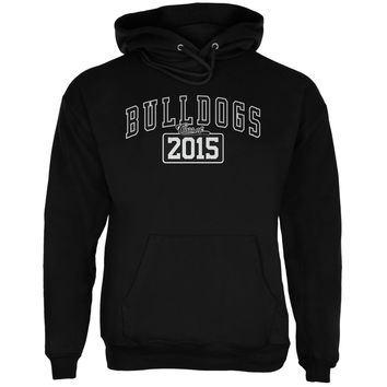 Graduation - Bulldogs Class of 2015 Black Adult Hoodie