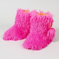 Fuzzy Fur Boots  | Claire's