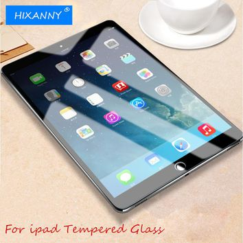 Full Screen Protective Tempered Glass For ipad 2 3 4 5 6 glass cover screen Protector Film for ipad mini 1 2 3 4 air 1 pro glass