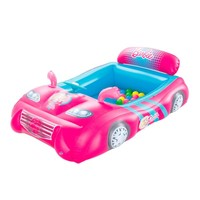 Bestway Barbie Sports Car Ball Pit | Overstock.com Shopping - The Best Deals on Inflatable Bouncers