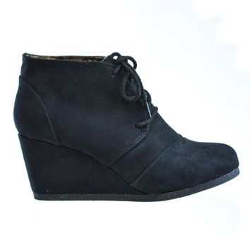 Rex City Classified, Lace up Oxford Ankle Bootie