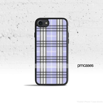 Plaid Lavender Phone Case Cover for Apple iPhone iPod Samsung Galaxy S & Note