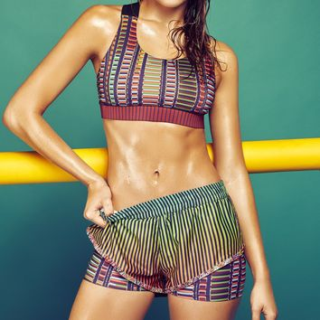 Agua Bendita High End Sports Bra - Energetic