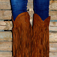 SOUTHWEST BEAUTY FRINGE BOOTS