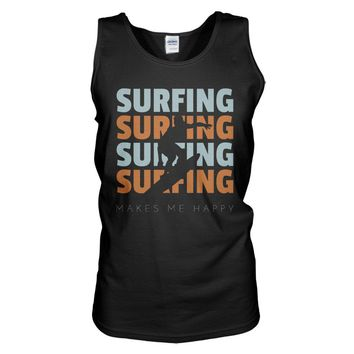Surfing Makes Me Happy Tank Top