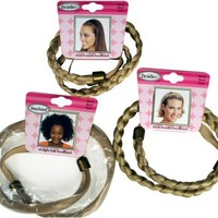 Tonytail Braided Headband Package, Blonde