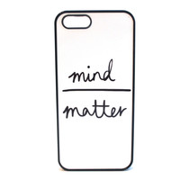 Mind Over Matter Phone Case