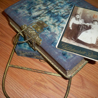 Antique Photo Album Set by eclecticnesting on Etsy