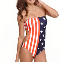 LA Hearts Tube Cutout One Piece at PacSun.com